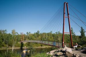 Manitoba's Whiteshell River Bridge