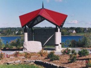le pavillon à Fredericton Pavilion