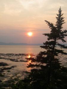 Rivière-du-Loup soleil couchant