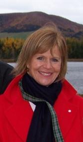Valerie Pringle on the Trail in Cape Breton, Nova Scotia.