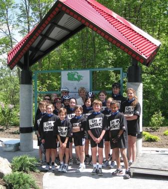 Ouverture du pavillon de Sentier le 8 juin 2009