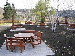 Halte des Pointes de Charlevoix, inauguré en octobre 2008