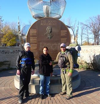 Dana Scots monument