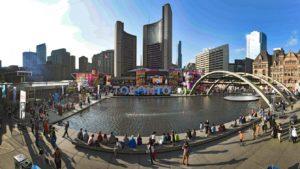 Square Nathan Phillips à Toronto. Photo : Jason Ranson/COC