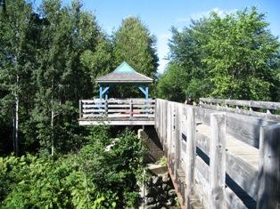 Modèle du pont qui à été détruit