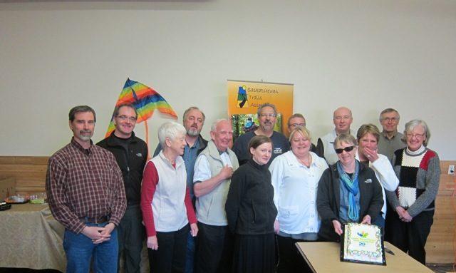 Saskatchewan Trails Association AGM 2012