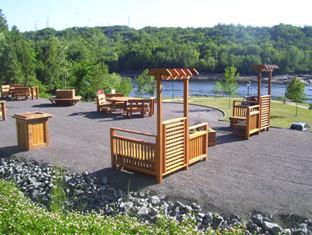 Tout près de la rivière Saint-Maurice à Notre-Dame du Mont-Carmel, la halte de La Gabelle sera officiellement inauguré au printemps 2011.