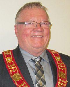 Sparwood BC, McDougall, Mayor Cal