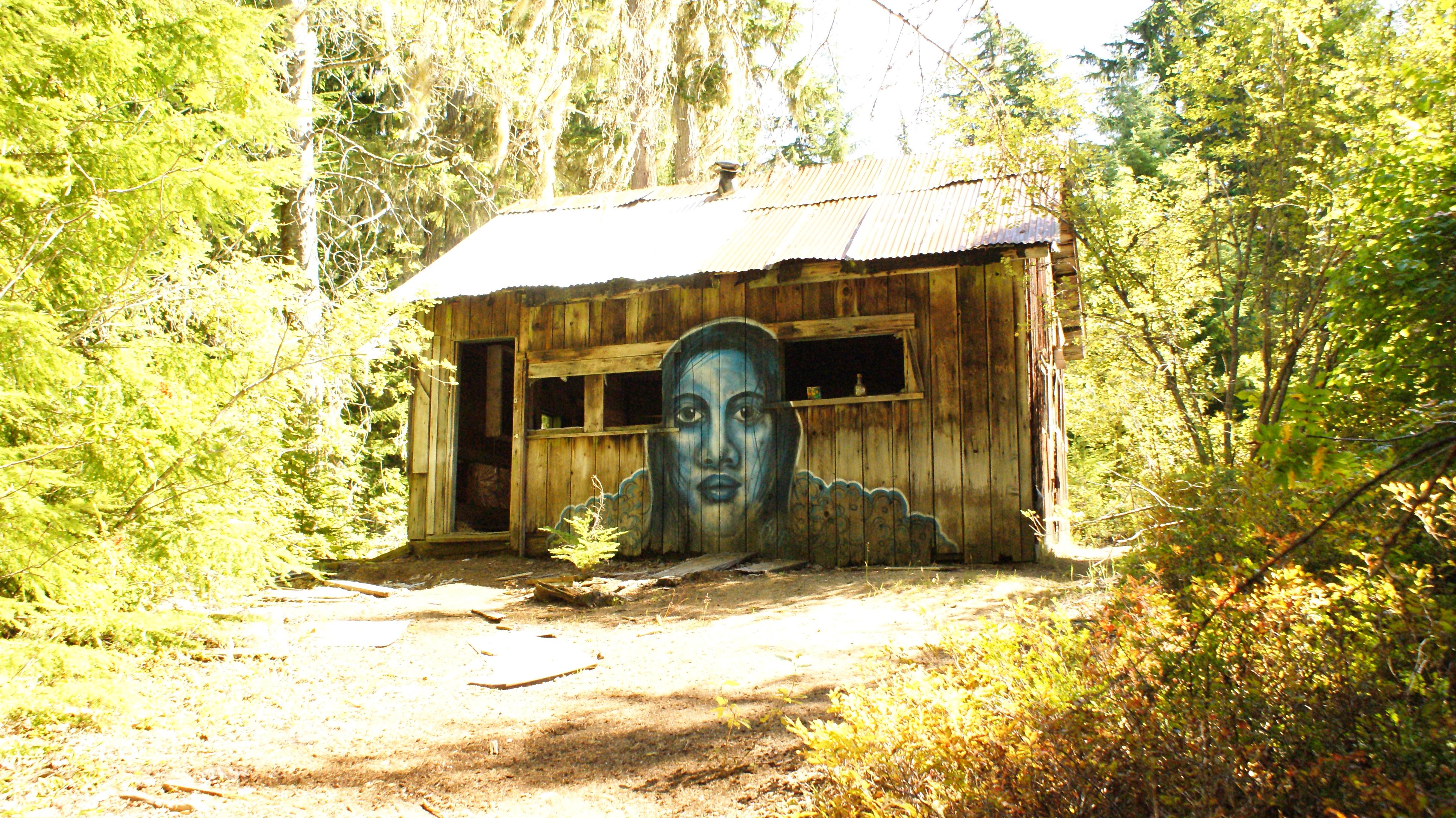 Parkhurst Ghost Town, near Whistler, B.C.
