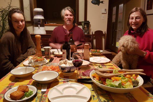Enjoying Quebec hospitality in Levis