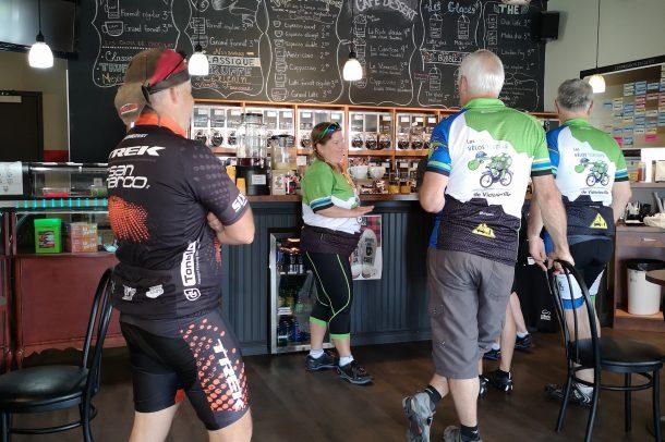 Endroit parfait pour cyclistes Brûlerie des Cantons