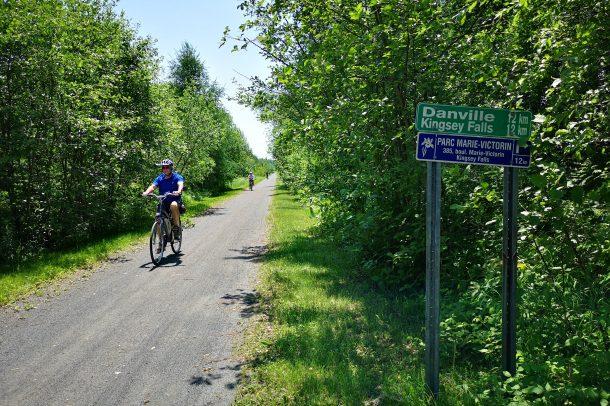 Sentier après Tigwick direction Parc Marie-Victorin