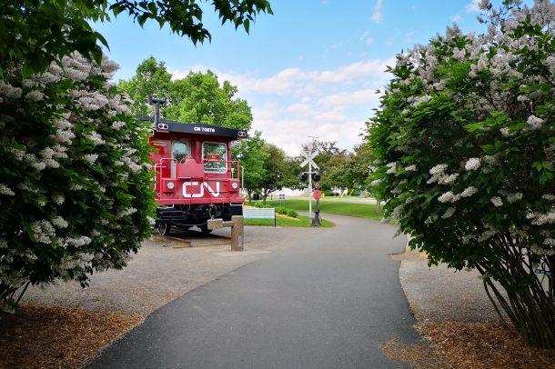 Wagon CN Plessiville