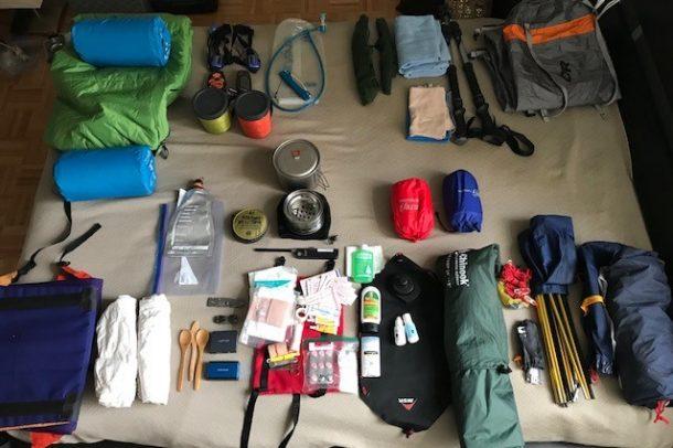 Nous vérifions toujours notre matériel plusieurs fois avant de partir! /?\ We always check our gear several times before leaving!