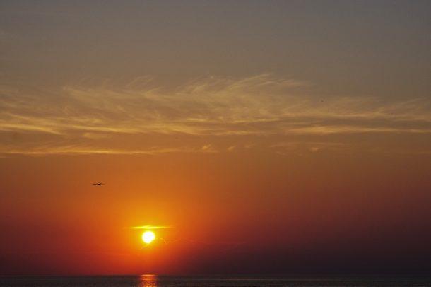 Coucher de Soleil Port Elgin ON. Rémi Cayot