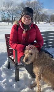 Eleanor McMahon and Finn, Ottawa, Ontario