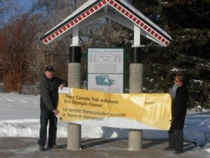 Yorkton banner Jo and Kelly Price from RBC