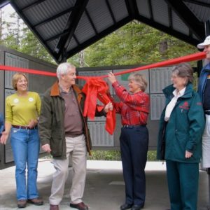 Canmore Pavillion opening ceremony, June 4, 2005