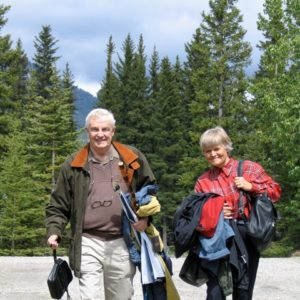 Peter Lougheed, Betty Anne Graves 2005