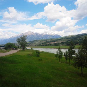 A glimpse at the proposed TCT route between Cranbrook and Fernie, B.C.
