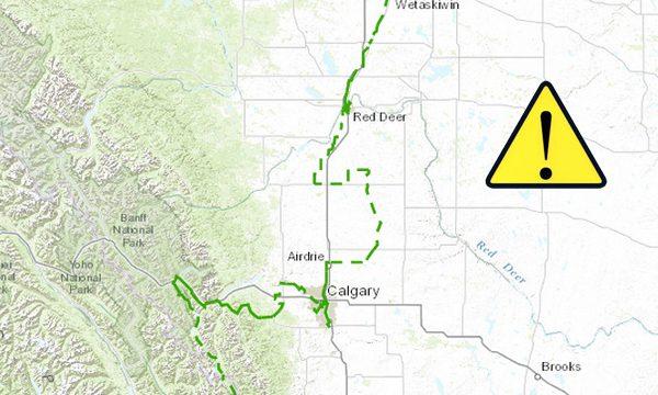 Les inondations en Alberta endommagent le Sentier