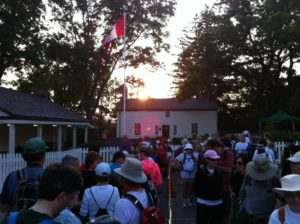 The Secord Walk start at dawn.