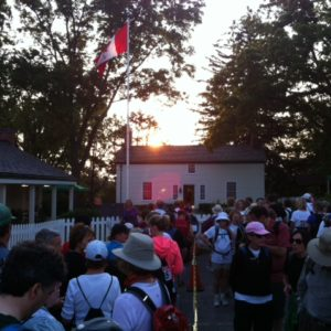 The Secord Walk start at dawn.