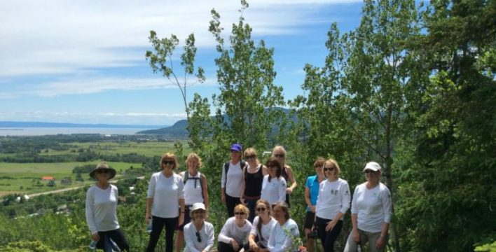 Back from left to right: Cheryl McEwen, Valerie Pringle, Heather McKay, Cate Hyde, Andrea Cohen-Barrack, Jackie Guarisco, Fiona MacLeod, Chris Dennison, Mrs. Laureen Harper, Heather Richardson. Front, sitting from left to right: Deborah Apps, Susan Hawkins, Celine Richardson, Natalie Beaulieu