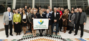 Attendees at the TCT reception in honour of Saskatchewan volunteers and Trail-builders (October 22, 2015) Photo: Michael Bell.