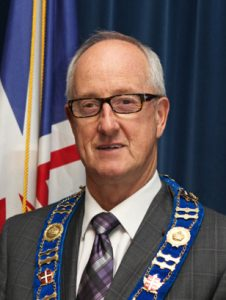 Clarenville - Russell, Mayor Frazer