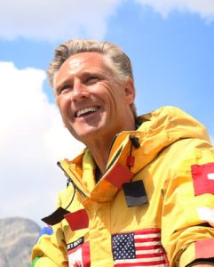 Colleen De Neve/ Calgary Herald CALGARY, AB -- AUGUST 12, 2015 --  Dave Rodney was photographed on August 11, 2015 in the Kananaskis. The Calgary Member of Parliament has summited Mt. Everest twice. (Colleen De Neve/Calgary Herald) (For What Its Like story by Emma McIntosh) 00067126A SLUG: 0812-What Its Like Rodney