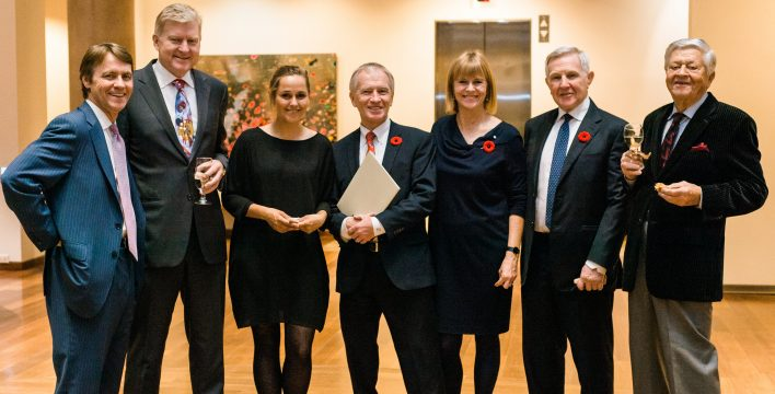 Left to Right:  Bruce Simpson, Ian Pearce, Sarah Jackson, Phillip Crawley, Valerie Pringle, Jack Cockwell, Jack Rhind