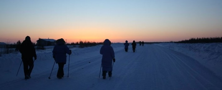 walk to tuk