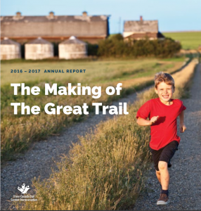 Trans Canada Trail Annual Report
