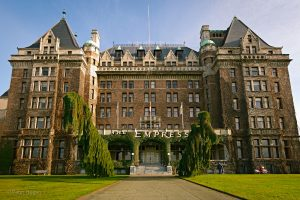 Fairmont Empress Hotel, Victoria, a haunted hotspot in BC.