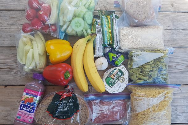Vitamins, protein, carbohydrates and fibre