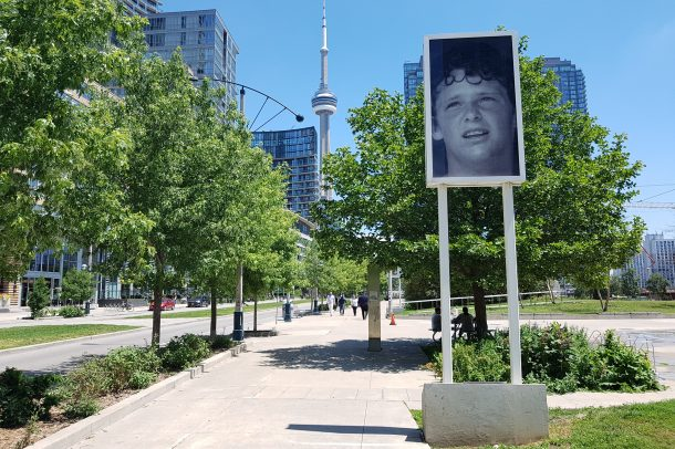 As I stepped into the city it was nice to be greeted by Terry Fox. I paused and looked up for a mental high five. Anything is possible if you try.