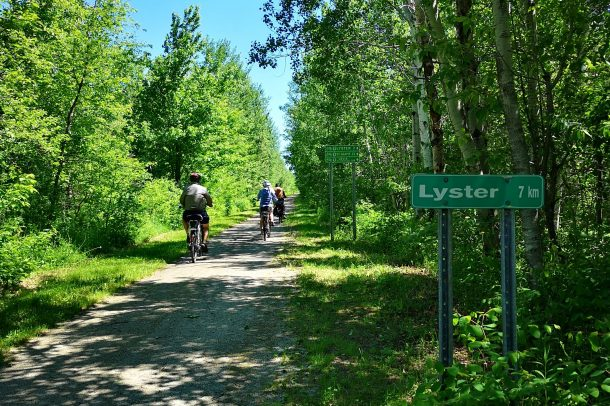 Le sentier vers Lyster