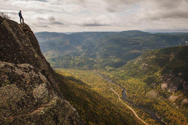 L'Acropole des Draveurs trail, Charlevoix </br> Sentier de lAcropole des draveurs, Charlevoix