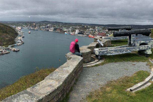 Une vue de St John's Terre-Neuve /?\ A view of St John's Newfoundland