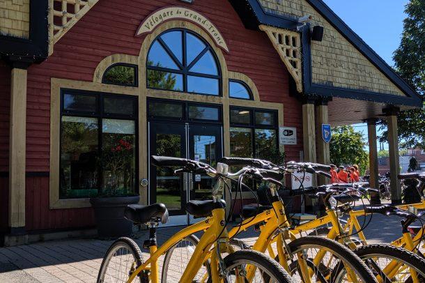 Vélos Communautaires VéloGare du Grand Tronc Victoriaville
