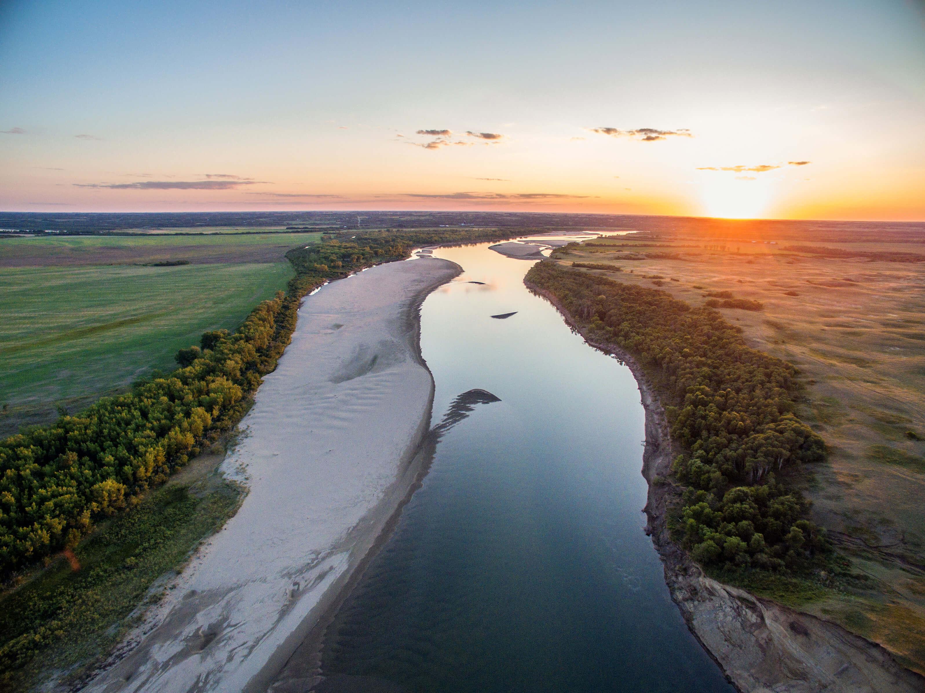Chief White Cap Waterway Saskatchewan